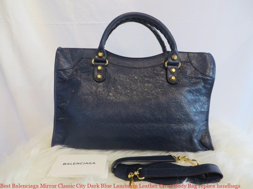 aa61ee3229e Best Balenciaga Mirror Classic City Dark Blue Lambskin Leather Cross Body Bag  replica handbags – 7 Star Replica Handbags – Inspired Fake Bags – Replica  ...