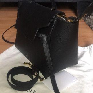 0189eebd5adf You're viewing: Perfect Quality Céline Designer Replica Belt Micro Never  Used Black Leather Satchel celine online shop £1,526.85